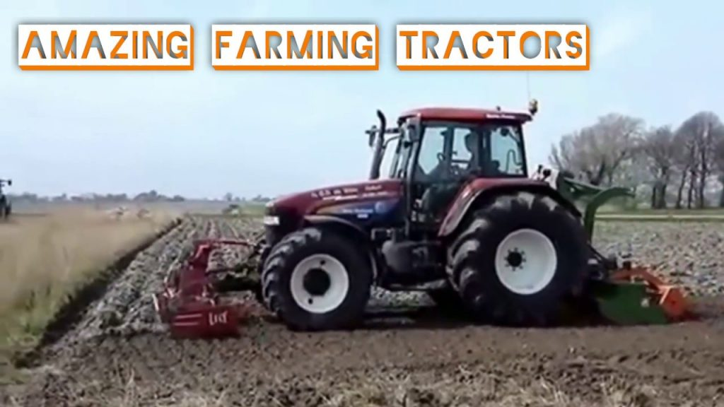 Amazing Farming Tractors, New Agriculture Technology