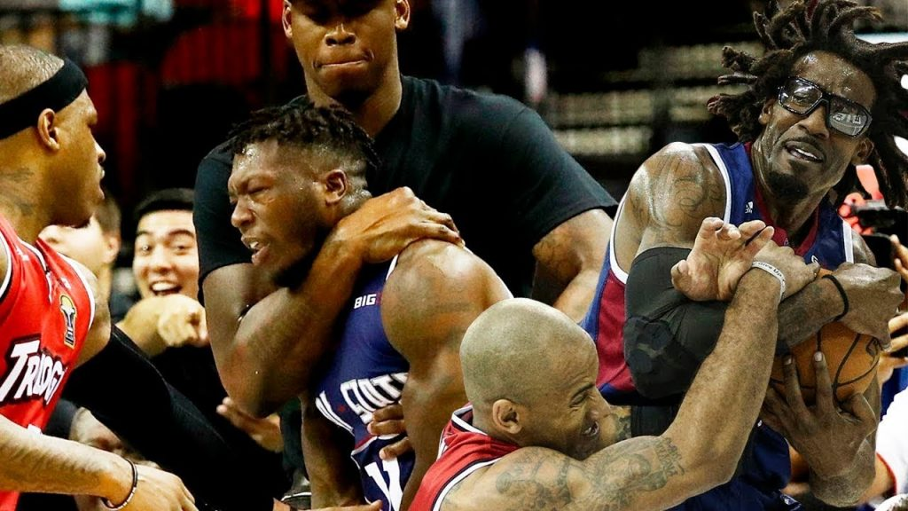 BIG3 Basketball - Fights, Brawls, Dirty Plays (2017-2019